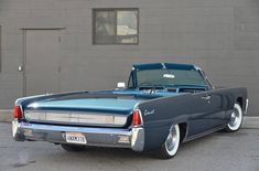 Image result for 1961 Lincoln Continental convertible