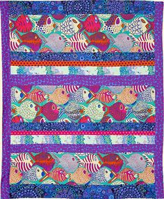 One Fish Quilt Fabric Pack