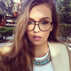 Instagram Insta-Glam: Gorgeous in Glasses   Beauty High