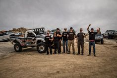 "Photo of Team Total Chaos in front of ""Lil T"" just before the Mint 400 race in Primm, Neva"