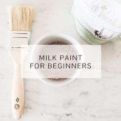 I shared this technique on my blog several years ago and decided to share it here on the milk paint blog. This is technique yields such an interesting look and, as a bonus, it uses a common medicine cabinet staple. I've heard about using Vaseline (petroleum jelly) as a paint resist for a while, but I never tried it. On this empire dresser, I pictured layers of blue and wanted to have clear definition between the two colors. This seemed like a good piece to test it out on. I painted the...