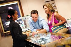 Find the souvenir of a lifetime in Norwegian's duty-free shops....oh yes, JEWELRY!!