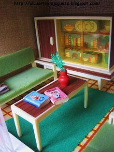Mobiliari casa nines Familia Hogarin anys 70 de Modisa