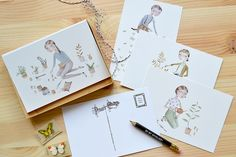 Plant Love Postcard Set by by Julianna Swaney