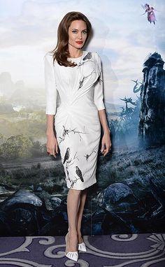 Angelina Jolie, una 'mala' de cuento que conquista la alfombra roja