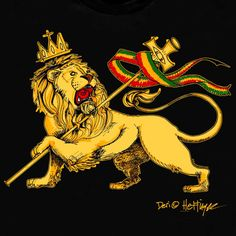 lion of judah Rasta Art, Rasta Lion, Reggae Art, Reggae Style, Rasta Tattoo, Lion Tattoo, Rastafari Art, Reggae Bob Marley, King Picture