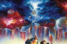 akiane kramarik paintings of heaven Heaven Is Real, Heaven Art, Artists For Kids, Art For Kids, Akiane Kramarik Paintings, Christian Artwork, Jesus Painting, Pictures To Draw, Fractal Art