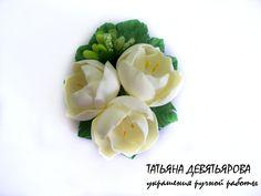 Мастер класс цветка из фоамирана,весенние цветы(часть1)Татьяна Девятьярова