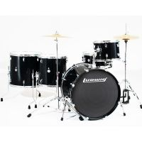 Ludwig LC17611 Accent Power Plus 5-delig drumstel Black Sparkle