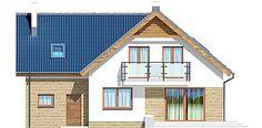 Elewacja tylna projektu Puk 3 Small Buildings, Home Fashion, Cabin, House Styles, Outdoor Decor, Home Decor, Decoration Home, Room Decor, Cottage