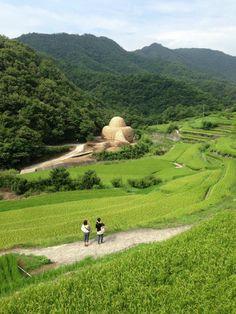 Art Installation at Shodo Island, Kagawa Prefecture, Japan (小豆島の光)
