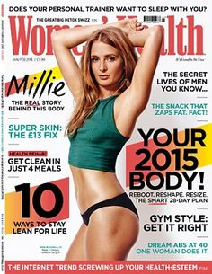 Tell-all: Millie's interview appears in the new issue of Women's Health magazine