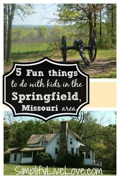 5 Fun Things to do with Kids in the Springfield, Missouri area. Heading to SW MO? Here are some things you and your kids will love to do!