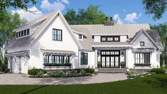 Wonderful Expandable Farmhouse House Plan With Options   14665RK | Architectural  Designs   House Plans