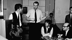 """How The Beatles' urbane producer and mentor helped revolutionise post-war popular culture. MOJO's Editor-In-Chief pays tribute to the """"Fifth Beatle"""" and all his works. Beatles Love, Beatles Photos, George Martin Beatles, Great Bands, Cool Bands, Alan Parsons, Popular Bands, The Fab Four, Abbey Road"""