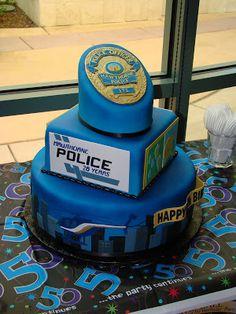 Emily's Cakes: Police Cake