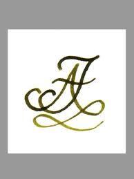 Znalezione obrazy dla zapytania monogram aj