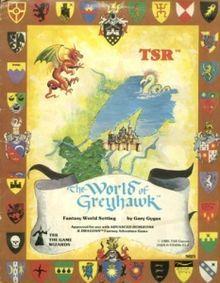 The World of Greyhawk Fantasy World Setting (1980 folio)