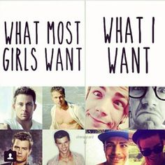THIS EXPLAINS EVERYTHING.>>>Yep I want Grant and some Jared padalecki, Jensen Ackles, Misha Collins and Joseph Morgan.