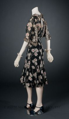 Dress Coco Chanel, 1937 The FIDM Museum