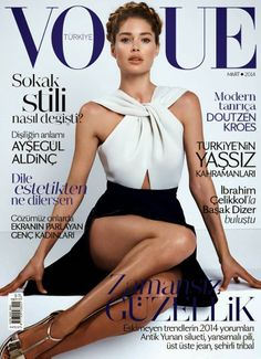Coverin' It: Doutzen Kroes on Vogue Turkey #magazinecover