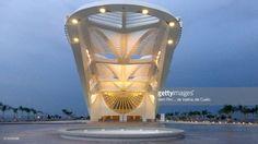 The newest brazilian museum, in Rio de Janeiro, Praça Mauá. Interior an architecture from Museum of Tomorrow. Hall and light