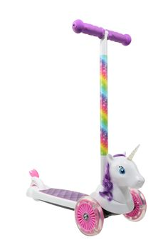 Little Girl Toys, Baby Girl Toys, Cool Toys For Girls, Kids Girls, Unicorn Rooms, Unicorn Bedroom, Toddler Toys, Kids Toys, Kids Scooter