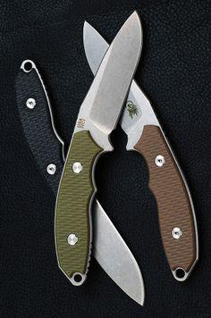 Rick Hinderer - Flashpoint 3″ Bushcraft Knives, Cool Knives, Knives And Tools, Knives And Swords, Edc Knife, Custom Knives, Crossbow, Knife Making, Survival Knife