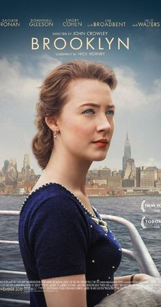 Directed by John Crowley.  With Saoirse Ronan, Domhnall Gleeson, Michael Zegen, Emory Cohen. In 1950s Ireland and New York, young Ellis Lacey has to choose between two men and two countries.