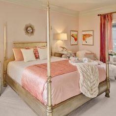 Light Pink Master Bedroom