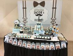 "Little man / Birthday ""Jacob's Little Man first birthday "" | Catch My Party"