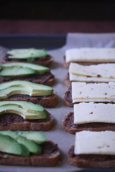 Mexi Grilled Cheese with Avocado, Pepperjack, and Refried Black Beans #fiesta