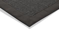 Sisal-Tapijt Mara A2 grijs 200 x 290 cm - Sisal - Tapijt, moderne tapijten, designer tapijten, hoogpolig tapijten, kinderen tapijten