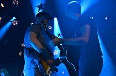 Coldplay, Jonny Buckland, Christ Martin, Paris, 5/28/14