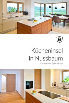 Charmant BEER Küchen.Manufaktur | Der Eyecatcher In Dieser Schönen Weißen Küche Ist  Die Kücheninsel Aus