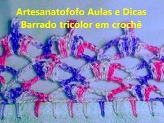 Bico em crochê delicado - CROCHÊ 29 - YouTube
