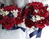 marine corps wedding bouquet ideas   ... and blue bridal bouquet package patriotic bouquet set military wedding