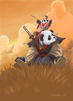 Shodo-Pan. These mighty pandaren warriors oversee the armies of their empire and serve as feudal lords to the general population.