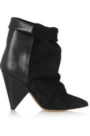 Isabel MarantAndrew suede and leather ankle boots