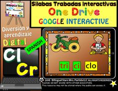 Slabas Trabadas Cr-Cl Forma Palabras Google Classroom & Google Drive  /  Consonant Clusters Word Work in SpanishDigital Notebook for the PowerPoint Application and/or One Drive in the iPad, and/or Google Slides/Google Classroom(iPad and computer) Go paperless!Thank you for purchasing Slabas Trabadas Cr-Cl Forma Palabras Word Work Google Drive Edition.
