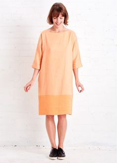 Loretta Hemp Dress by Cus | Gather&See