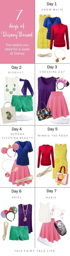 7 Days of DisneyBounding Shopping List More