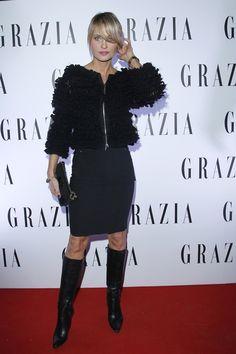 Aneta Kręglicka Miss World, Style Icons, Amazing Women, Leather Skirt, Lips, Polish, Skirts, How To Wear, Beauty