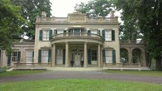 Montgomery Place Mansion inn Annandale on the Hudson River. A beautiful place to get married.