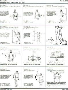EXCLUSIVE PHYSIOTHERAPY GUIDE FOR PHYSIOTHERAPISTS: EXERCISE FOR SHOULDER STRENGTHNING