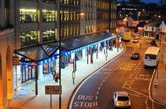 Blue shelter LED lighting from Exled