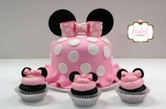 Minnie Mouse Cake Fondant Cake Birthday Cake
