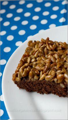 Z zapachem wanilii we włosach...: słonecznikowiec - ciasto marzeń Cake Recipes, Snack Recipes, Dessert Recipes, Cooking Recipes, Snacks, Muffins, Baking And Pastry, Something Sweet, Delicious Desserts