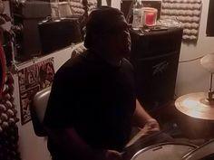 Bubba in the studio