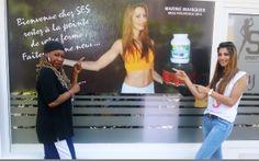 Tina Anglio et Marine Mahiques  - Miss Provence 2012. Un partenariat avec le comité Miss France Alpes côte d'azur.